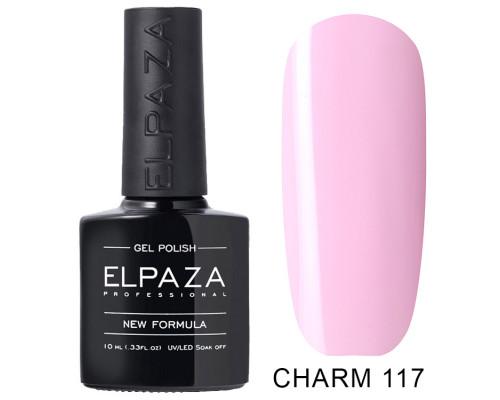 ELPAZA ГЕЛЬ-ЛАК  Charm 117  Бант  (Светлый лилово-розовый)  10 мл
