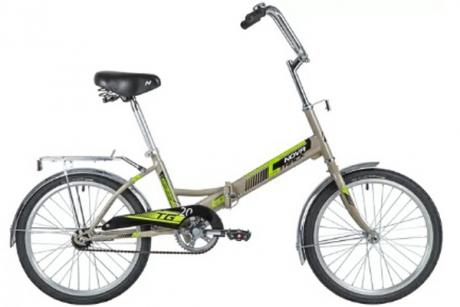 """Велосипед NOVATRACK 20"""" серый"""