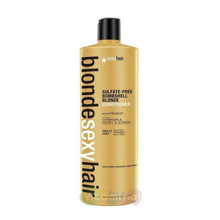 SEXY HAIR Шампунь для сохранения цвета блонд BOMBSHELL BLONDE SHAMPOO
