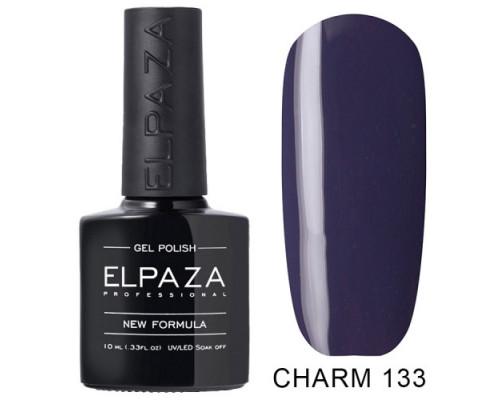 ELPAZA ГЕЛЬ-ЛАК  Charm 133 Бермудский треугольник (Серо-фиолетовый) 10  мл