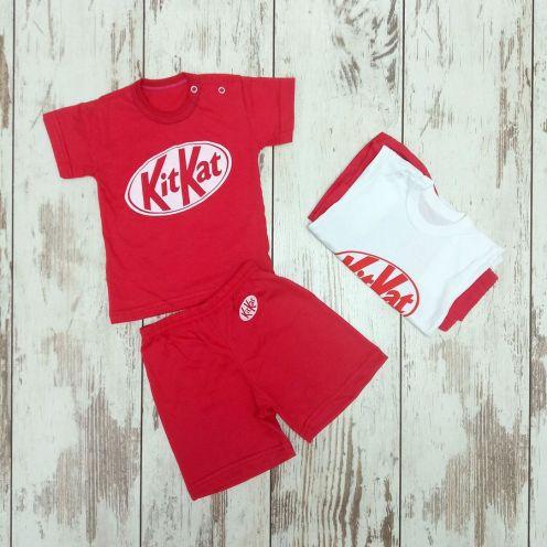 Костюм: футболка 2 кн., шорты kA2-KS069(2)-SU
