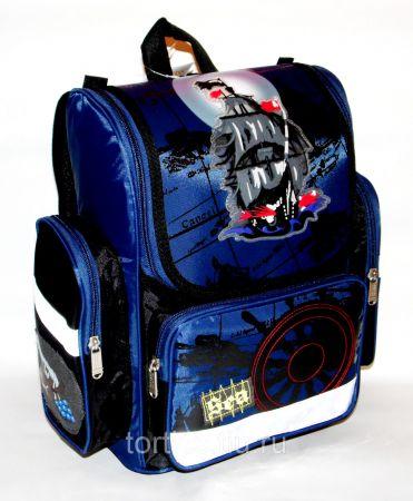 50672 ранец для мальчиков TORTISS ортопедический в комплекте с мешком (5 вариантов)