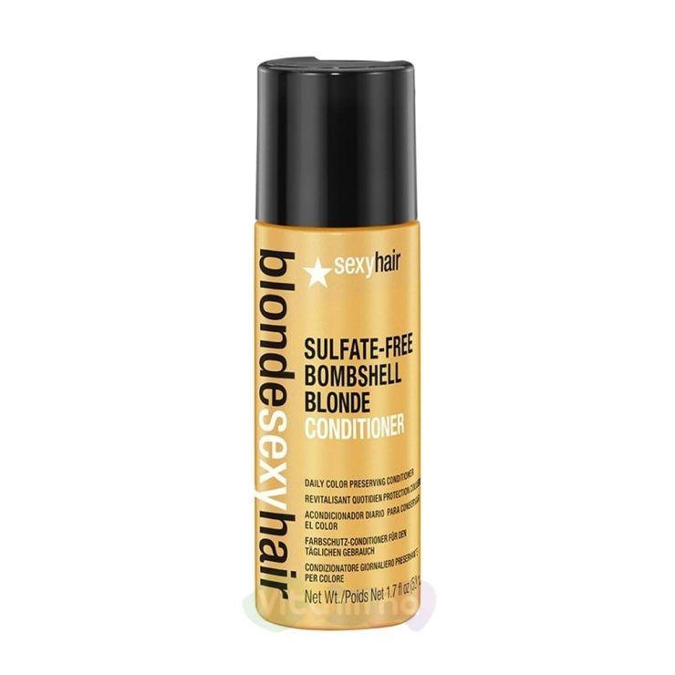 SEXY HAIR Кондиционер для сохранения цвета без сульфатов BOMBSHELL BLONDE CONDITIONER