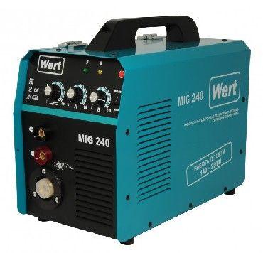 Сварочный аппарат инверторного типа Wert MIG 240 MIG/MAG