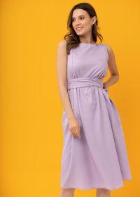 """Платье """"Иоланта"""" для беременных и кормящих; лиловый"""