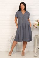 Платье 4863 [серый]
