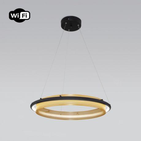 Светильник подвесной Eurosvet Imperio 90241/1 черный/ золото