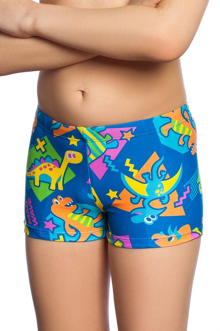 Плавки-шорты детские Mad Wave DINOS