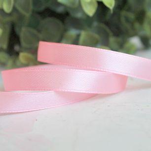 Лента атласная Нежно-розовая, 10 мм.