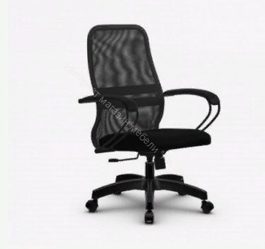 "Кресло ""Метта"" комплект SU-CP-8  (темно-серый)"