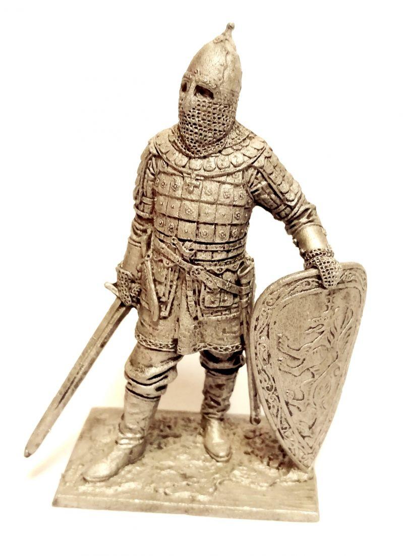 Фигурка Русский знатный воин олово