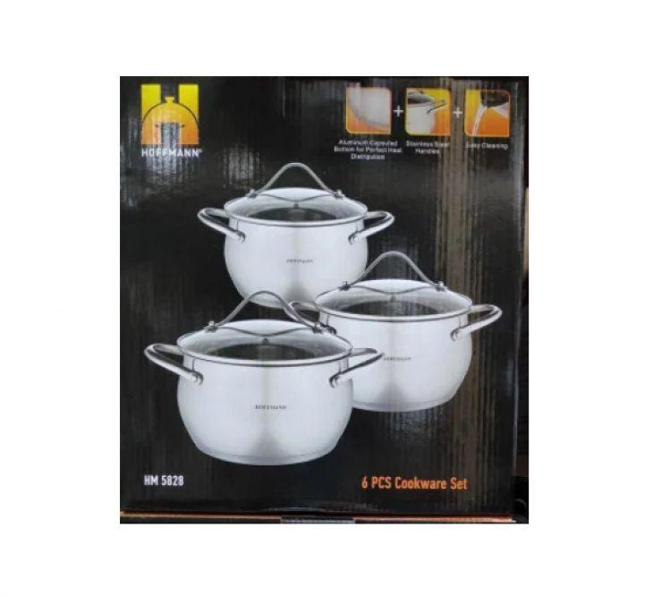 Набор посуды 3 кастрюли HM 5828