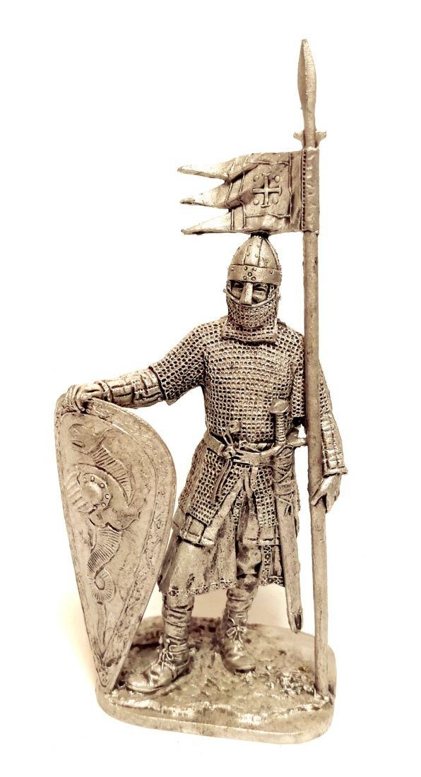 Фигурка Нормандский рыцарь олово
