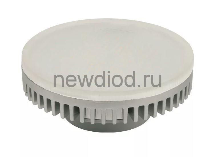 Лампа сд GX53 12W 1080Лм 4000К 220V 27x75мм Композит матовая OREOL