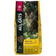 All CATS Сухой корм для взрослых кошек, с курицей, 13кг