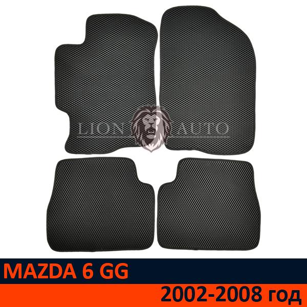 EVA коврики на Mazda 6 GG (2002-2008г)