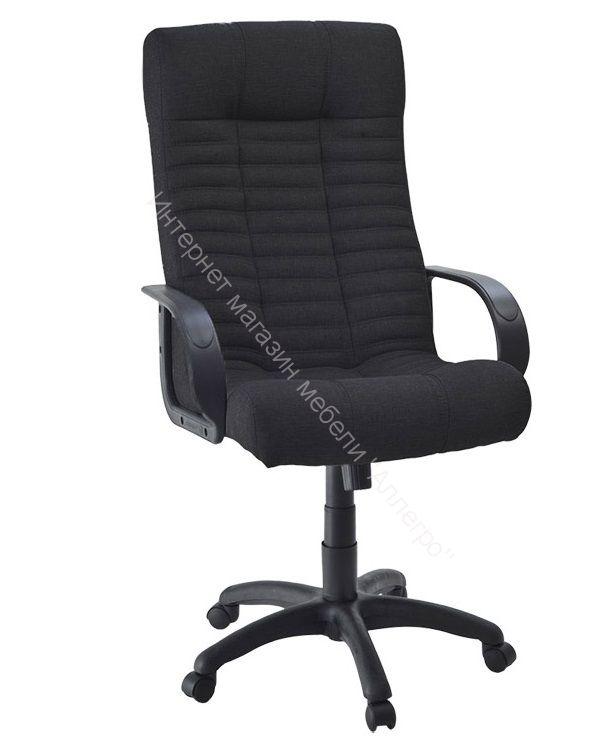 Кресло Атлант PL-1 (ткань Крафт 02 Black)