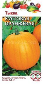 Тыква Кустовая оранжевая (Гавриш)