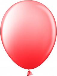 Шар (12''/30 см) красный, пастель, 100 шт.