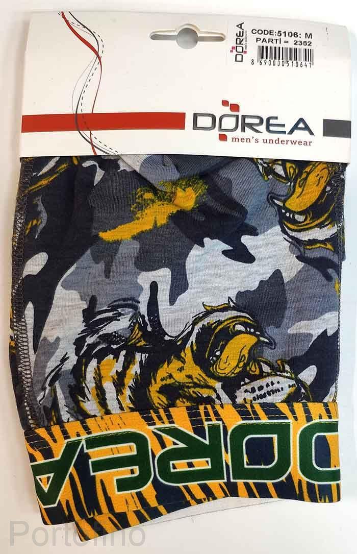 5106 DOREA Трусы мужские шорты облегающие (Турция)