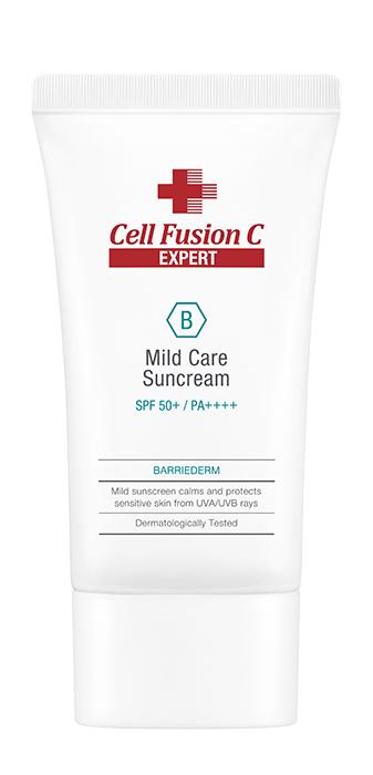 Крем солнцезащитный с церамидами (Mild Care Suncream SPF50+ PA++++) Cell Fusion C (Селл Фьюжн Си) 50 мл