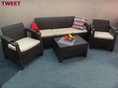 Комплект уличной мебели  TWEET Terrace Set Max (Россия)
