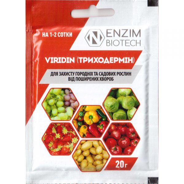 """Триходермин"" (viridin), 20 г, от ENZIM Agro, Украины"