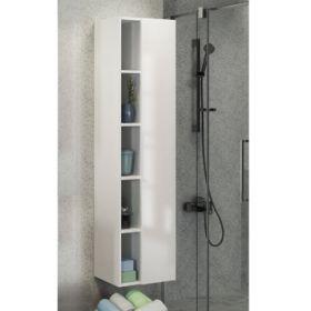 Шкаф-колонна Comforty  Милан-40 белый глянец