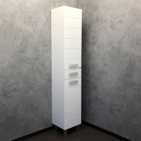 Шкаф-колонна Comforty  Модена М-35 белая матовая