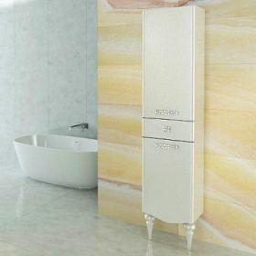 Шкаф-колонна Comforty  Монако-40 левая белый глянец