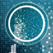 Зеркало Comforty Круг-60 светодиодная лента, сенсор 00004140524CF