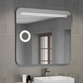 Зеркало Comforty Лондон-90 светодиодная лента, сенсор 900*800 00004140523CF
