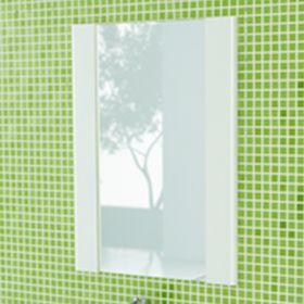Зеркало Comforty Флоренция-70 белый глянец