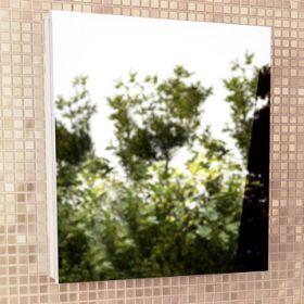 Зеркало-шкаф Comforty Диана-60 белый глянец
