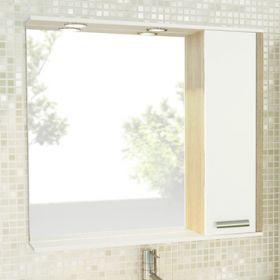 Зеркало-шкаф Comforty Тулуза-90 сосна лоредо