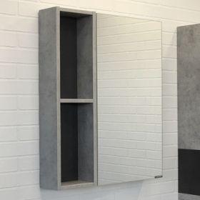 Зеркало-шкаф Comforty Франкфурт-60 бетон светлый