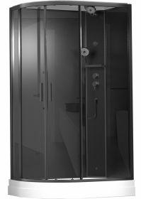 Душевая кабина Timo ILMA 902 Black R 120x80