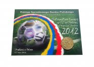 Польша 2 злотых - СТАДИОНЫ Евро-2012 (Стадион Гданьск), ОФИЦИАЛЬНЫЙ ВЫПУСК Msh