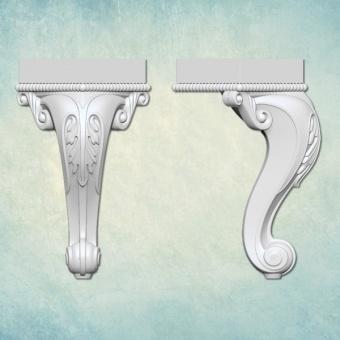 """Молд 3D """"Ножка"""" (S) ARTMD1340"""