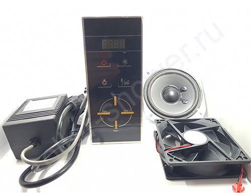 Пульт управления SP-012-bluetooth  комплект (блок питания, динамик, вентилятор)