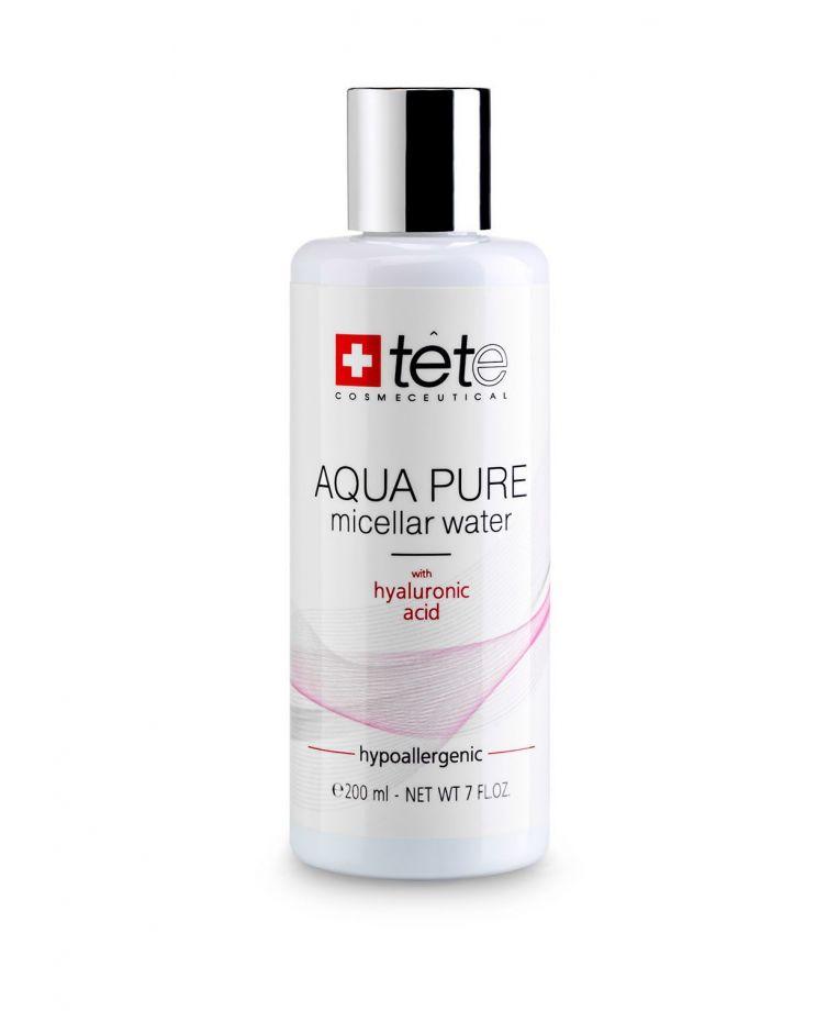 Мицеллярная вода с гиалуроновой кислотой (AQUA PURE Micellar water) Tete cosmeceutical (Тете косметик) 200 мл