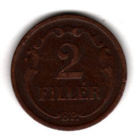 Венгрия 2 филлера 1939