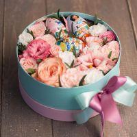 цветочная коробка с киндером № 2