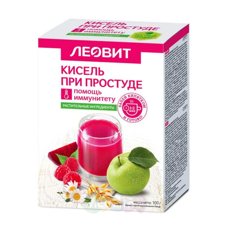 Леовит Нутрио Кисель «При простуде» 20гр, 5 шт