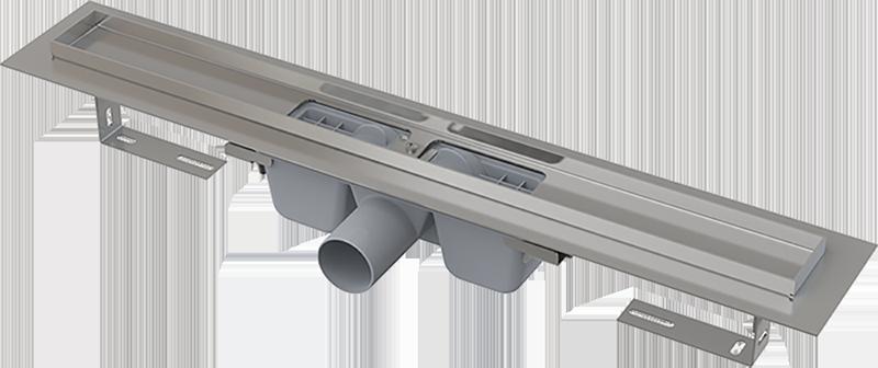 APZ1 Водоотводящий желоб с порогами для перфорированной решетки