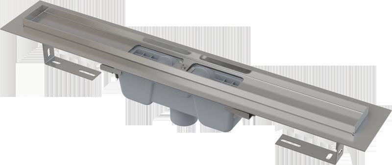 APZ1001 Водоотводящий желоб с порогами для перфорированной решетки