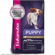 Eukanuba Puppy All Breeds Lamb&Rice Корм для щенков всех пород с ягненком и рисом (12 кг)