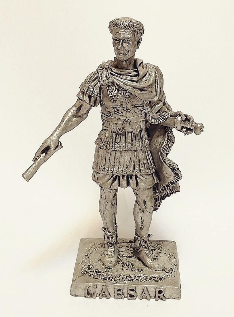 Фигурка Юлий Цезарь олово