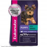 Eukanuba Puppy Toy Breed Корм для щенков миниатюрных пород (500 г)