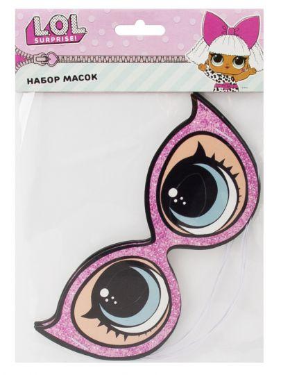 Маски-очки Модные куклы